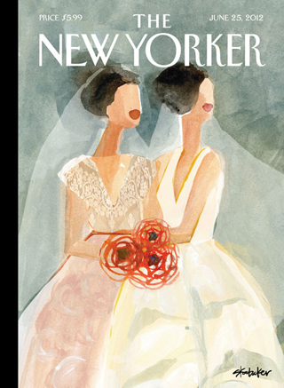 New Yorker Cover by Gayle Kabaker
