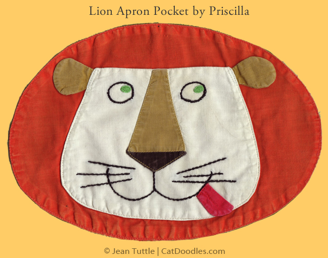 Lion Pocket by Priscilla Tuttle