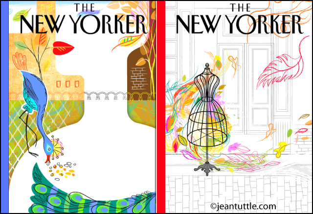 Faux New Yorker Covers, Theme Fashion