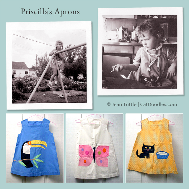 Aprons Designed by Priscilla Tuttle