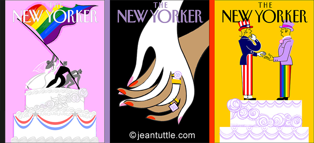 Jean Tuttle Blown Cover Concepts - Gay Marriage